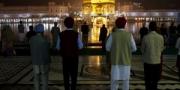 Morning prayer at Golden Temple, Amritsar, India, 2010