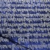 Holy inscriptions on schistous stone, Hemis, Ladakh, India, 2006