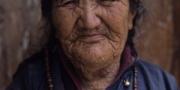 Ladakhi women in Leh, Ladakh, India, 2006